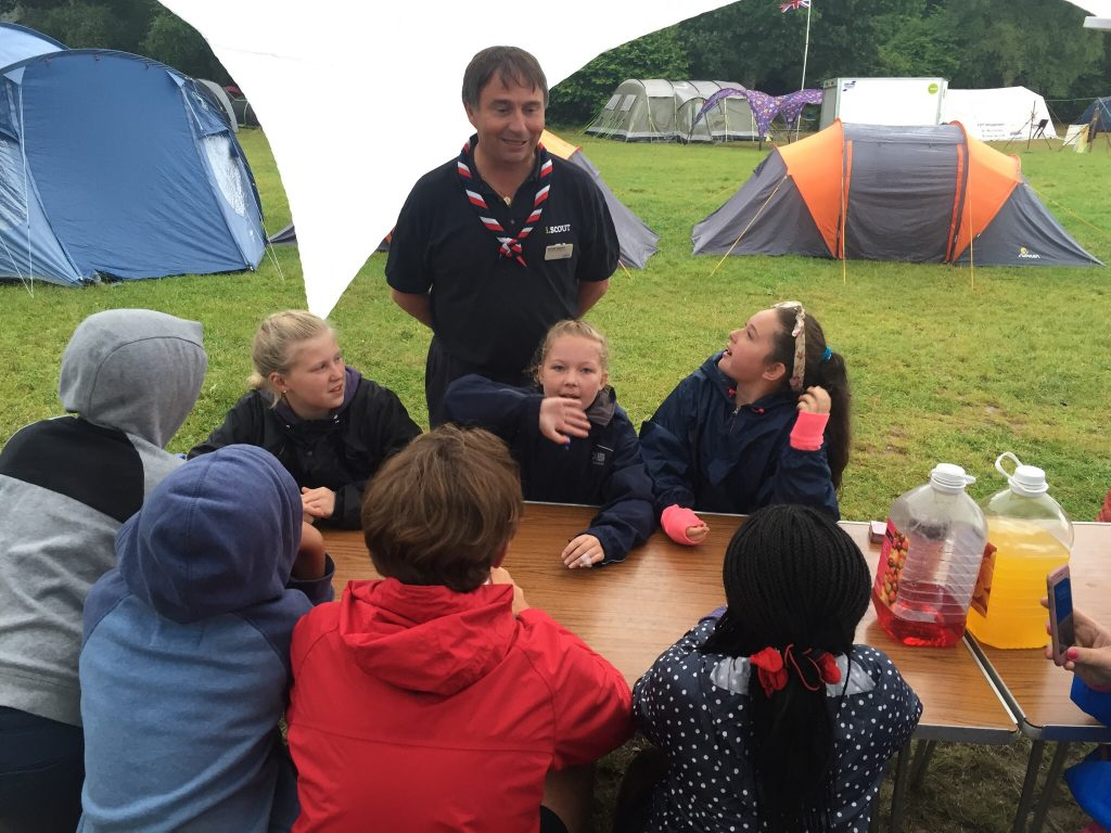 Scouts & Explorers Summer Camp to Ferny Crofts