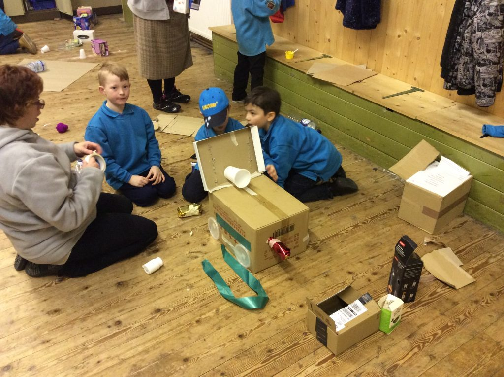Junk Modelling with the Beavers